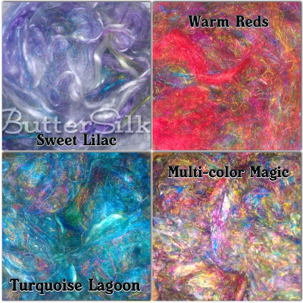 Blue Barn Fiber  Buttersilk These are just four of the many colors she offers... And if you have a color in mind, that's not there, not already made, seriously just message her and she does her best to make it happen