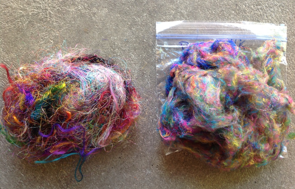 See the difference between sari silk on left and buttersilk on right It's a huuuuge difference
